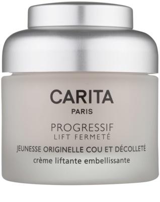 Carita Progressif Lift Fermeté лифтинг крем за шия и деколте