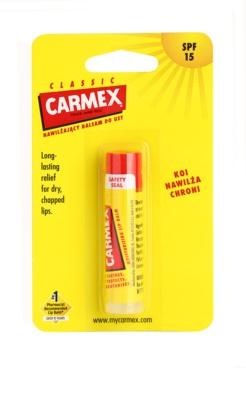 Carmex Classic хидратиращ балсам за устни в тубичка SPF 15