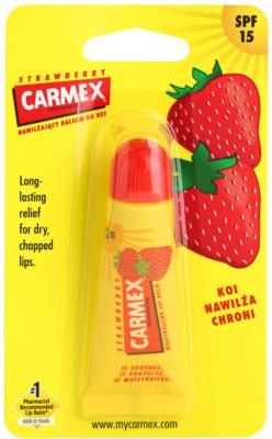 Carmex Strawberry Lippenbalsam in der Tube SPF 15