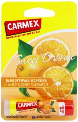 Carmex Sweet Orange hydratační balzám na rty v tyčince