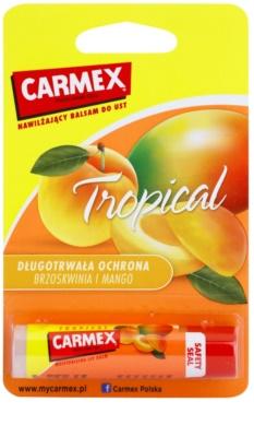 Carmex Tropical hydratačný balzam na pery v tyčinke