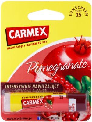 Carmex Pomegranate hydratační balzám na rty v tyčince SPF 15