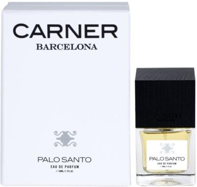 Carner Barcelona Palo Santo Eau de Parfum unissexo