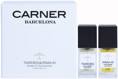 Carner Barcelona Voyage Set coffret presente