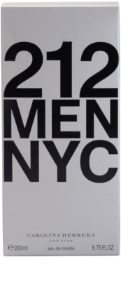Carolina Herrera 212 NYC Men eau de toilette férfiaknak 4