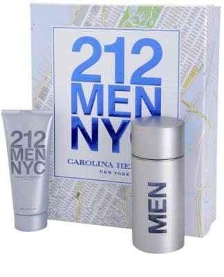 Carolina Herrera 212 NYC Men darčeková sada