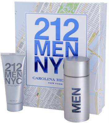 Carolina Herrera 212 NYC Men set cadou