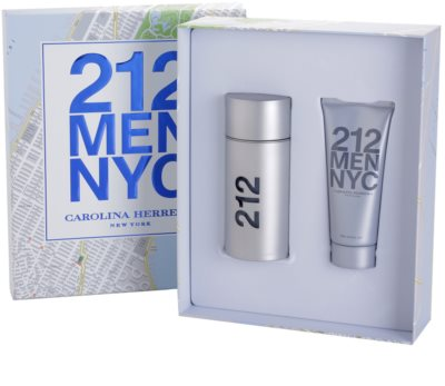 Carolina Herrera 212 NYC Men lote de regalo 1