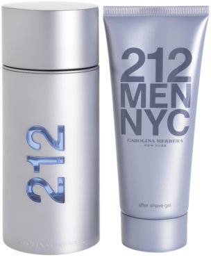 Carolina Herrera 212 NYC Men lote de regalo 2