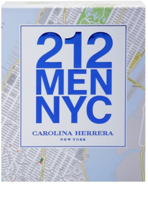 Carolina Herrera 212 NYC Men darilni set 3