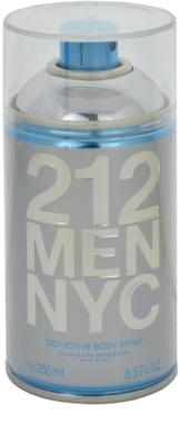 Carolina Herrera 212 NYC Men spray do ciała dla mężczyzn