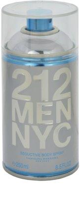 Carolina Herrera 212 NYC Men testápoló spray férfiaknak