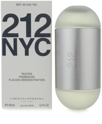 Carolina Herrera 212 NYC тоалетна вода тестер за жени 1
