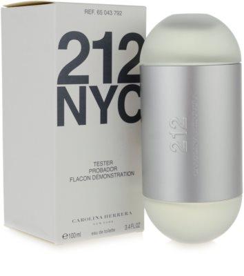 Carolina Herrera 212 NYC тоалетна вода тестер за жени 2
