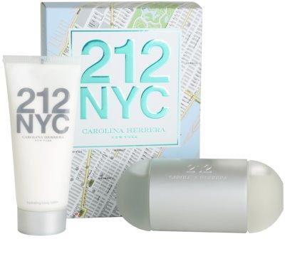 Carolina Herrera 212 NYC lotes de regalo