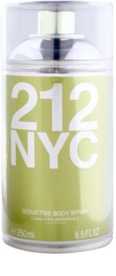 Carolina Herrera 212 NYC tělový sprej pro ženy