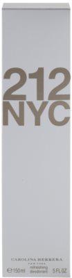 Carolina Herrera 212 NYC Deo-Spray für Damen 4