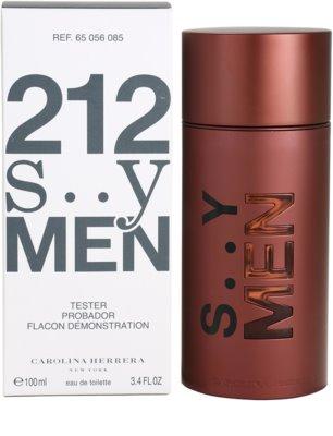 Carolina Herrera 212 Sexy Men eau de toilette teszter férfiaknak 3