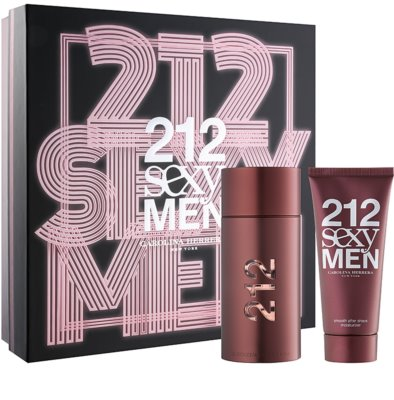 Carolina Herrera 212 Sexy Men подаръчни комплекти