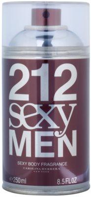 Carolina Herrera 212 Sexy Men spray de corpo para homens