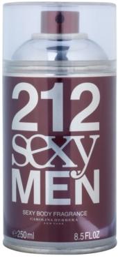 Carolina Herrera 212 Sexy Men testápoló spray férfiaknak