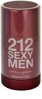 Carolina Herrera 212 Sexy Men desodorizante em stick para homens