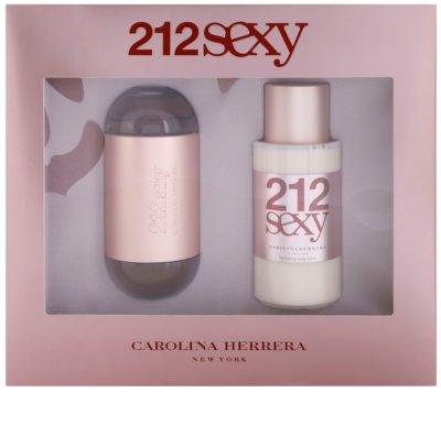 Carolina Herrera 212 Sexy dárková sada