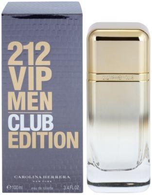 Carolina Herrera 212 VIP Men Club Edition Eau de Toilette pentru barbati