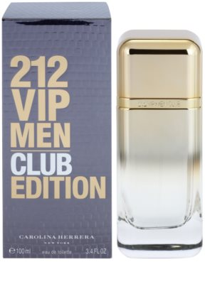 Carolina Herrera 212 VIP Men Club Edition toaletna voda za moške