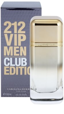 Carolina Herrera 212 VIP Men Club Edition eau de toilette férfiaknak 2
