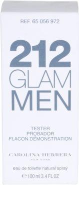 Carolina Herrera 212 Glam Men тоалетна вода тестер за мъже 1