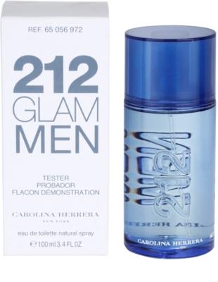 Carolina Herrera 212 Glam Men тоалетна вода тестер за мъже 2
