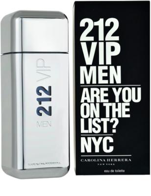 Carolina Herrera 212 VIP Men Eau de Toilette pentru barbati