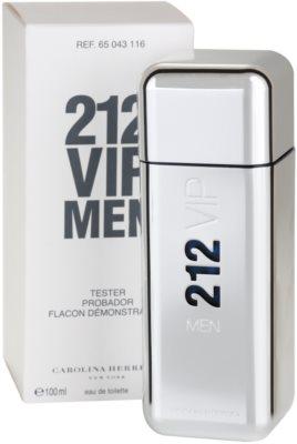 Carolina Herrera 212 VIP Men toaletní voda tester pro muže 2