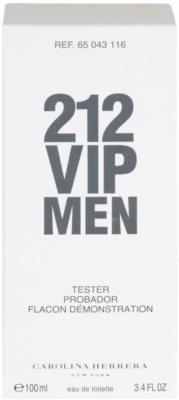 Carolina Herrera 212 VIP Men toaletní voda tester pro muže 3