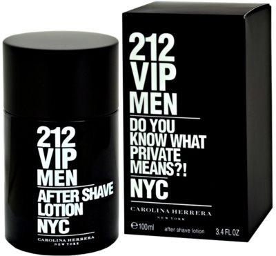 Carolina Herrera 212 VIP Men after shave para homens