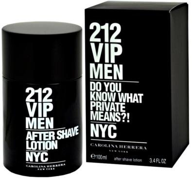 Carolina Herrera 212 VIP Men loción after shave para hombre