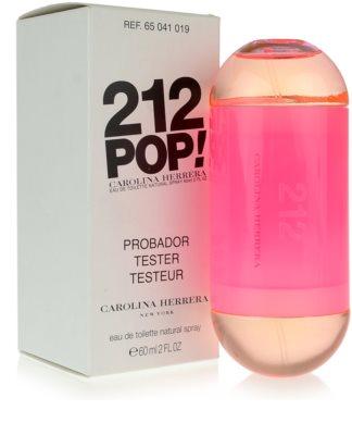 Carolina Herrera 212 Pop! toaletní voda tester pro ženy 4