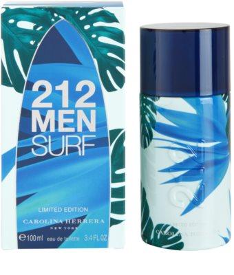 Carolina Herrera 212 Surf eau de toilette para hombre