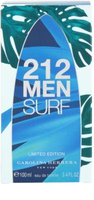 Carolina Herrera 212 Surf eau de toilette para hombre 4