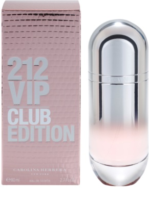 Carolina Herrera 212 VIP Club Edition Eau de Toilette für Damen