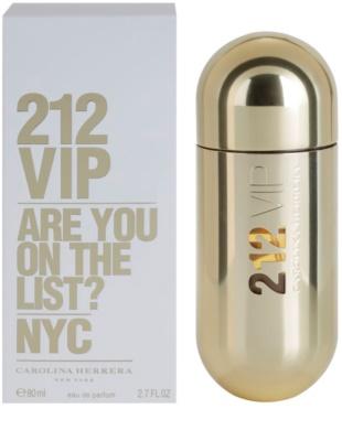 Carolina Herrera 212 VIP eau de parfum nőknek