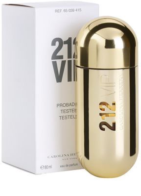 Carolina Herrera 212 VIP woda perfumowana tester dla kobiet 3