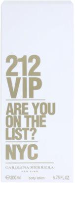 Carolina Herrera 212 VIP Lapte de corp pentru femei 2