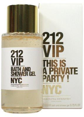 Carolina Herrera 212 VIP Duschgel für Damen