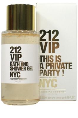 Carolina Herrera 212 VIP gel de duche para mulheres