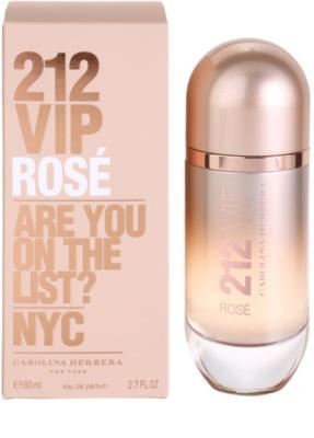 Carolina Herrera 212 VIP Rose eau de parfum nőknek