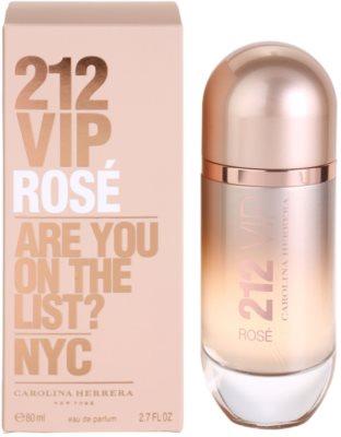 Carolina Herrera 212 VIP Rose parfumska voda za ženske
