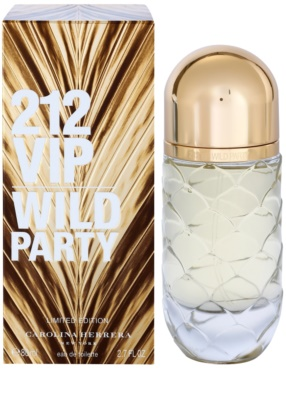Carolina Herrera 212 VIP Wild Party Eau de Toilette für Damen