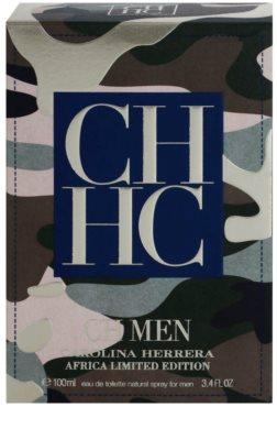 Carolina Herrera CH CH Men Africa eau de toilette férfiaknak 4